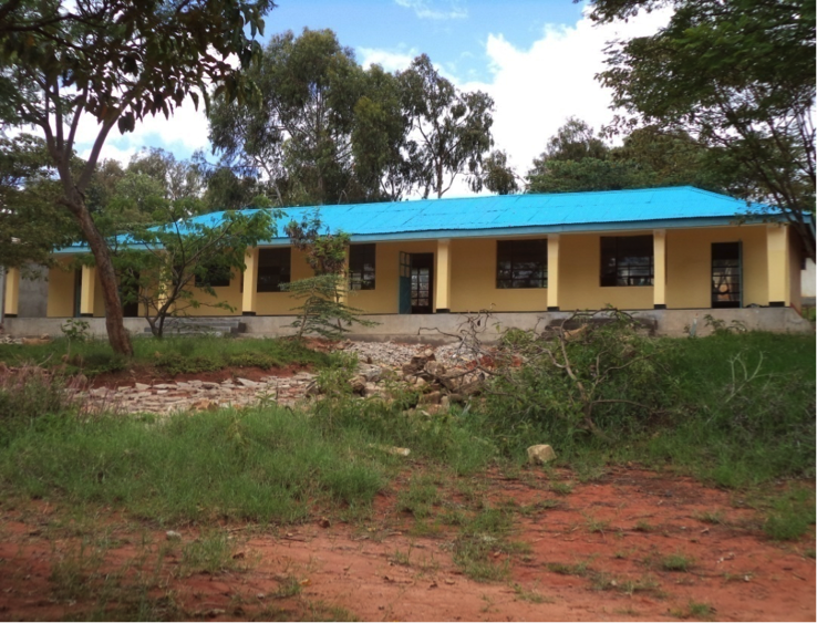 Qaloda Primary School, Tanzania - after