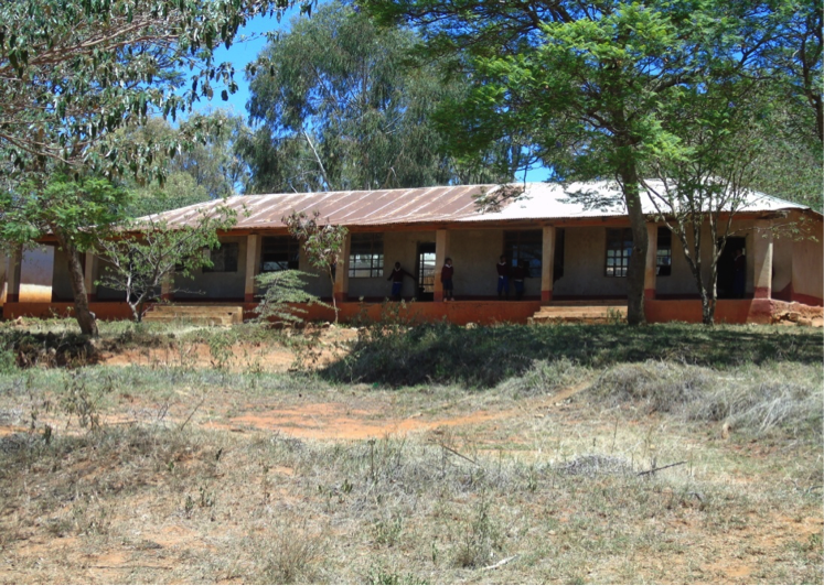 Qaloda Primary School, Tanzania - before