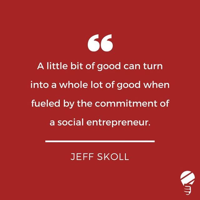 SENSA Social Entrepreneurship Quote! Happy Monday!