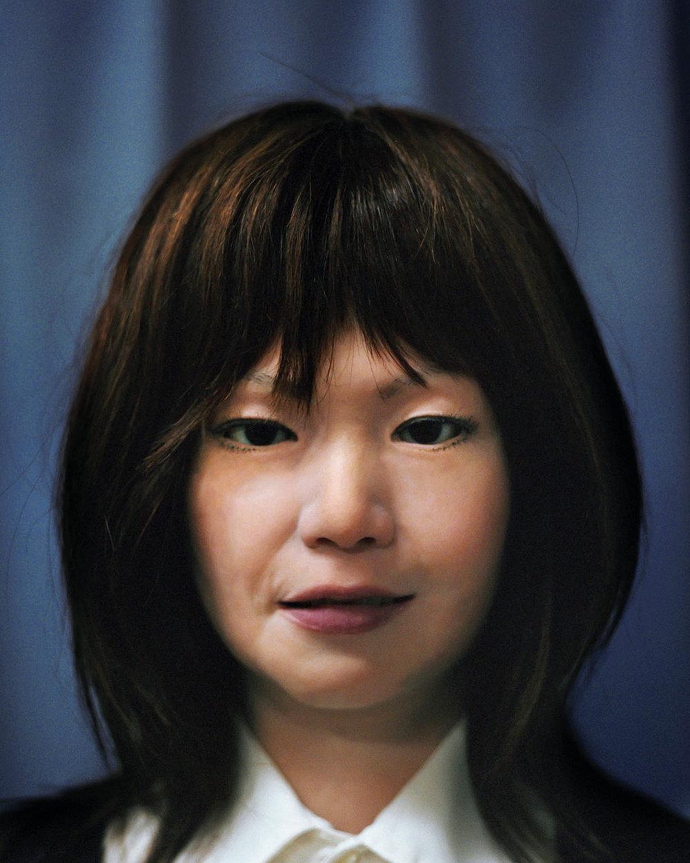 Portrait of Actroid-F,  2013  Hiroshi Ishiguro Laboratories, ATR