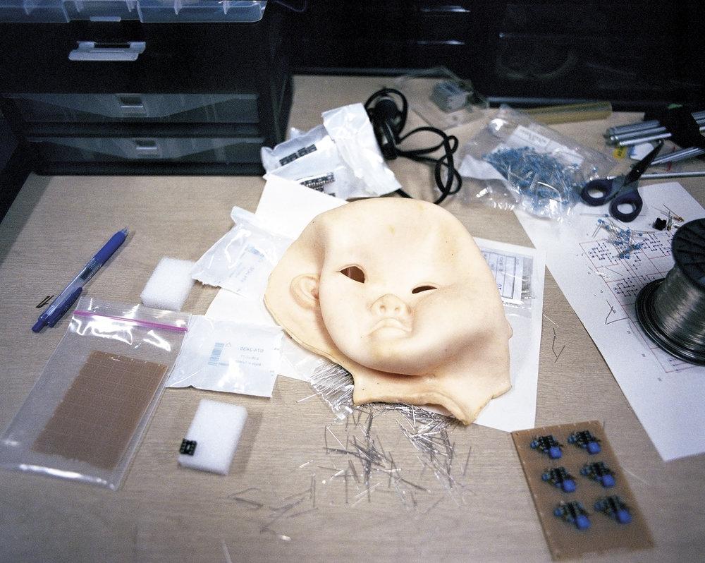 Face of Affetto,  2013  Asada Laboratory, Osaka University