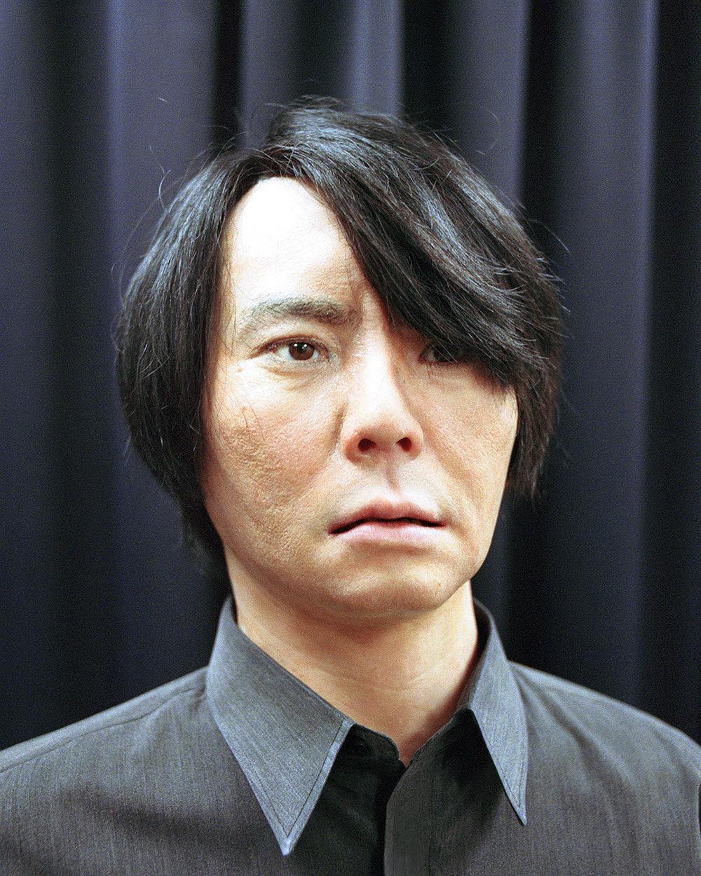 Portrait of Geminoid HI-2,  2013  Hiroshi Ishiguro Laboratories, ATR
