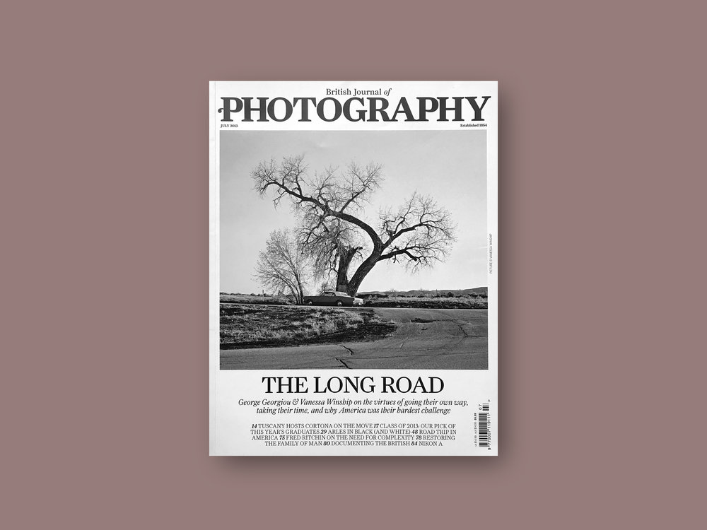 2013   British Journal of Photography  (UK) Issue 7814,  'Graduates'