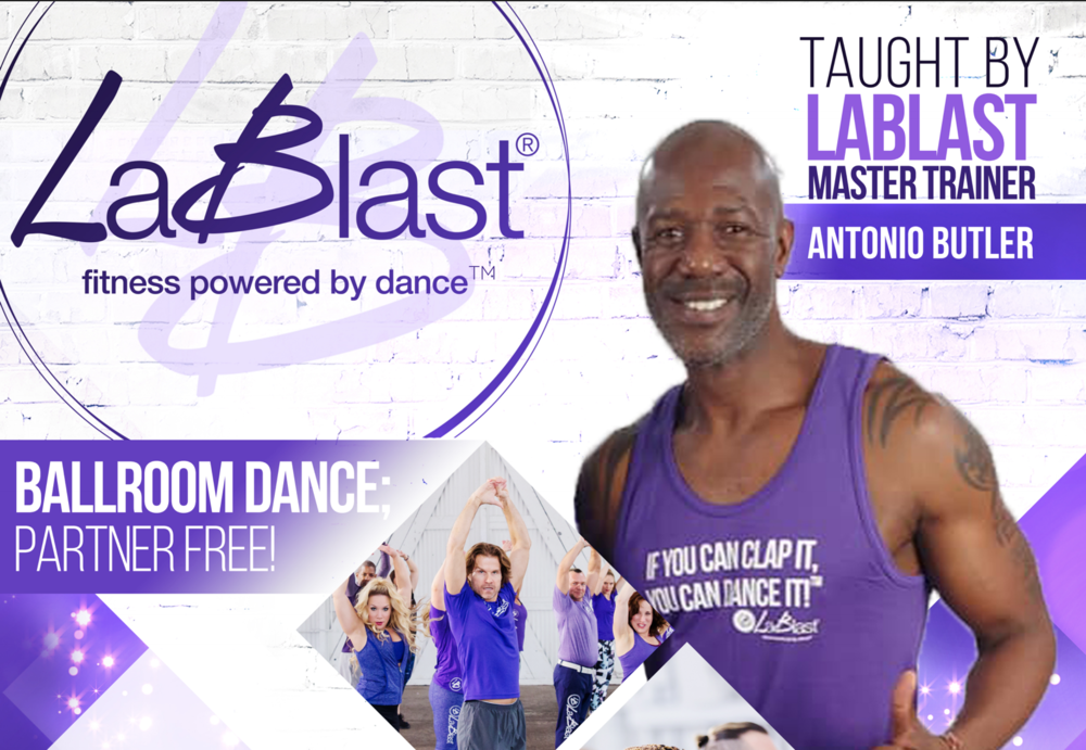 Antonio Butler  - LaBlast Fitness Master Trainer
