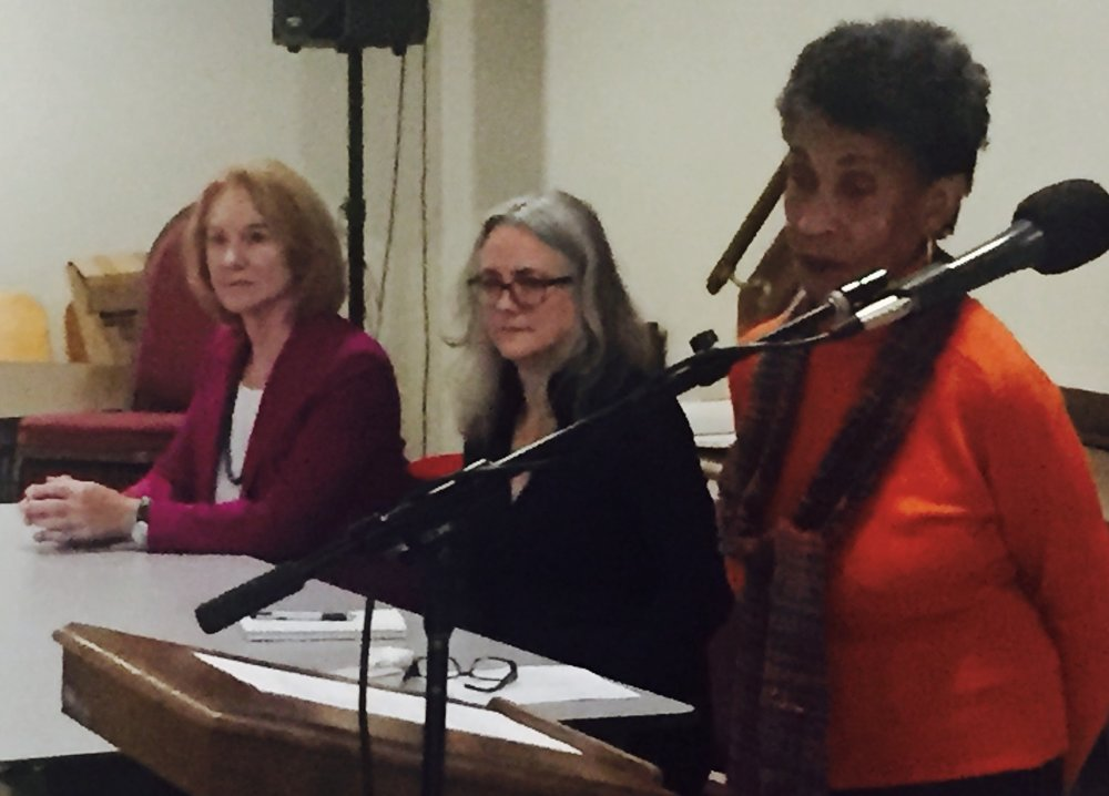 Seattle Mayoral Candidates Jenny Durkan and Cary Moon with Frances Carr