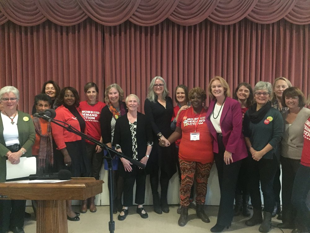 Grandmothers and Moms together with Seattle Mayoral Candidates