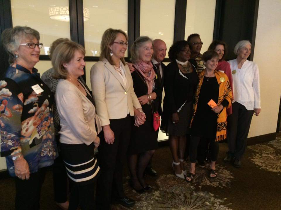Grandmothers with Gabby Giffords and Mark Kelly