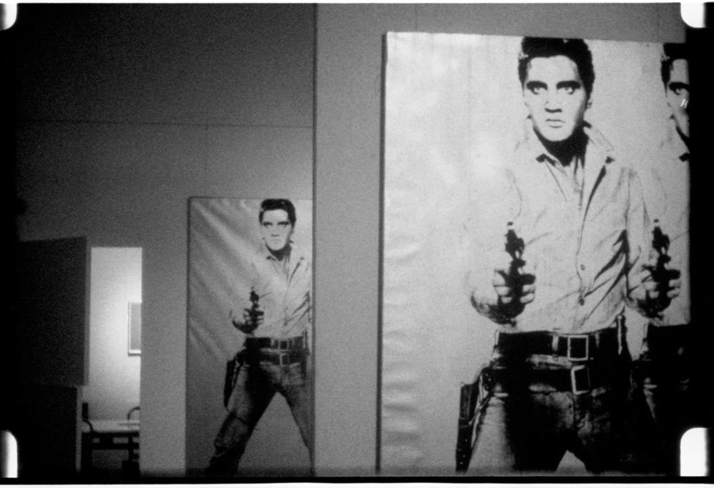 Elvis at Ferus  (1963) by Andy Warhol