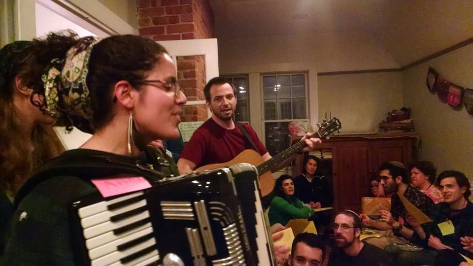 Performer - Anat plays intimate house concerts with participatory singing, fun festive dance music, and is a ringer as a vocalist and pianist.
