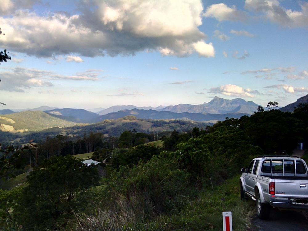 Boundary Between NSW and Queensland