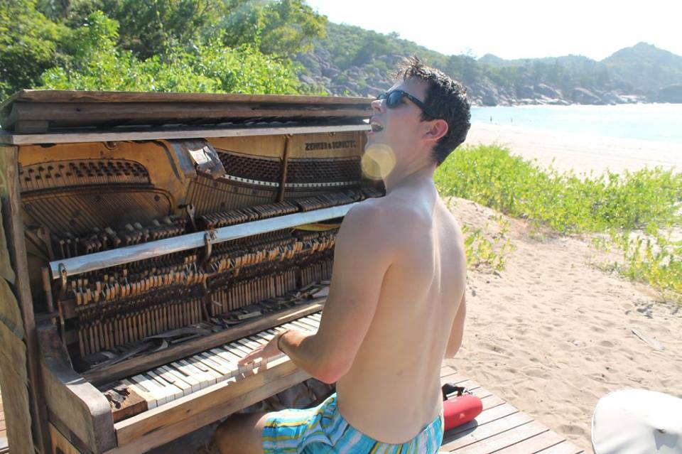 Piano on Magnetic Island
