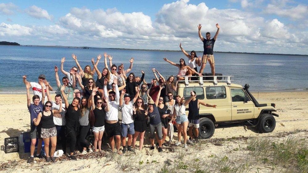 Dingos Tagalong Tour Fraser Island