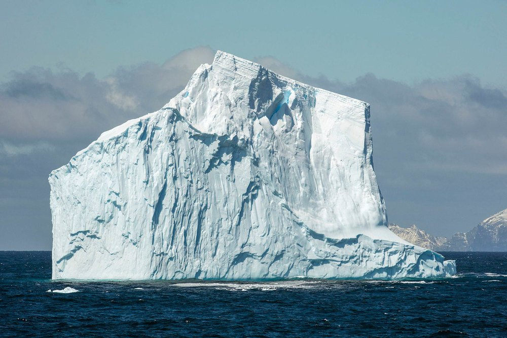 Inspiration for the naming of this series came from researching icebergs and their naming conventions: Image source: Wikipedia, photo by Andrew Shiva