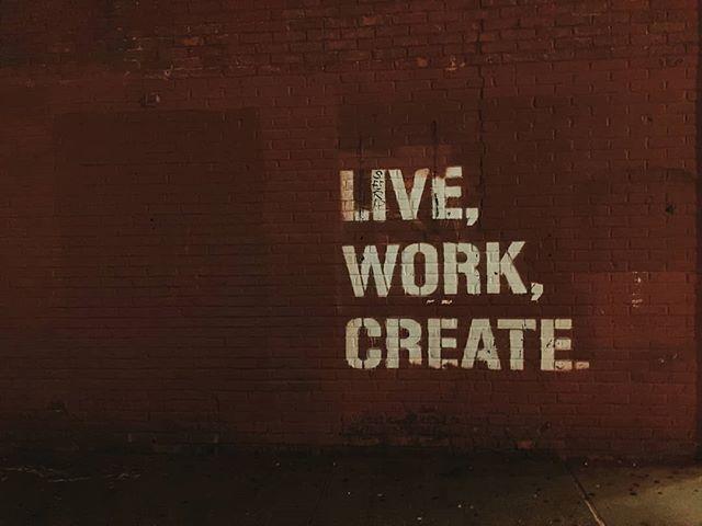 Daily motto: Live, work, create. Repeat. . . . . . . . . . . . . . . . . . #TuesdayTips #BusinessTips #Entrepreneur #Entrepreneurship #creatives #inspiration #businessinspiration #freelancer #startup #tuesdaytip #smallbiz #biztip #businesstip