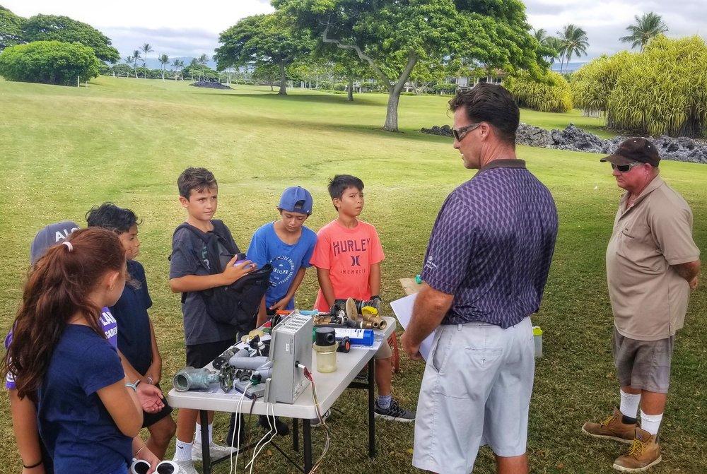 Hualalai Golf Course STEM program.jpg