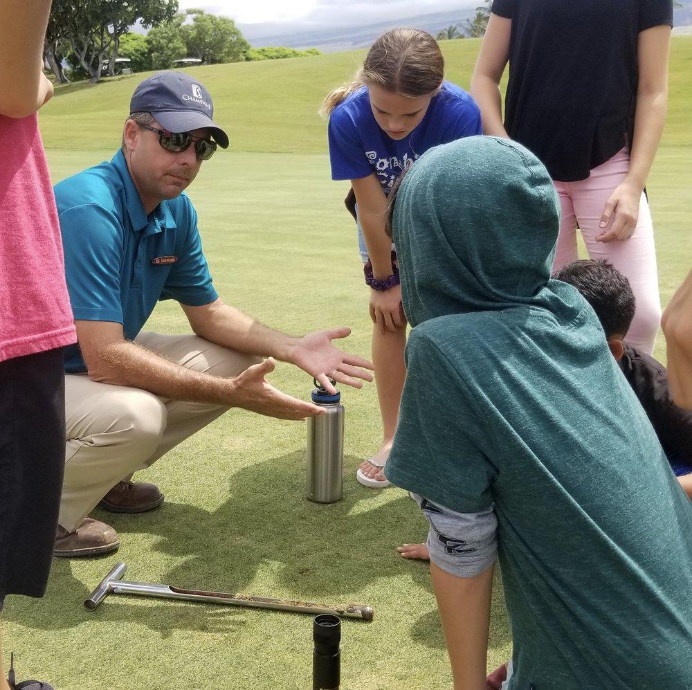 Hualalai Golf Course Science Kids.jpg