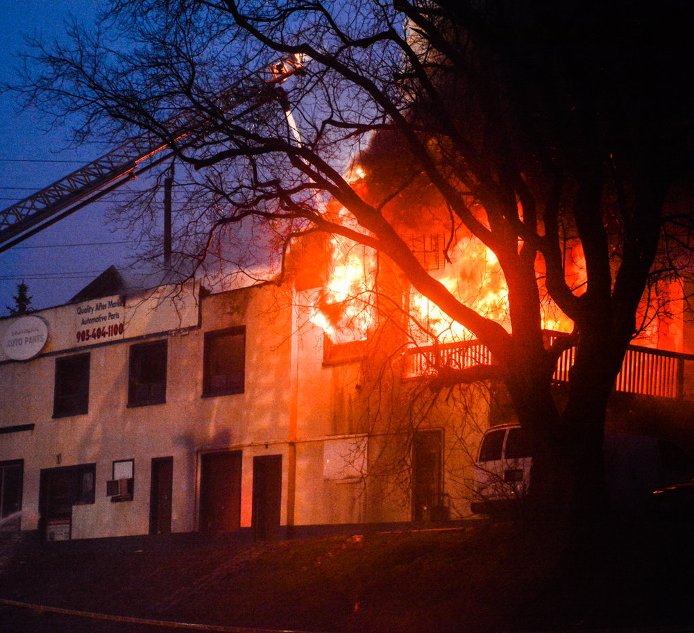 VIDEO - Second fire of the week destroys Oshawa business -