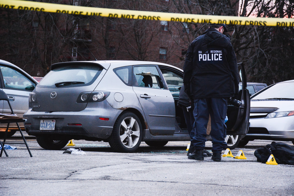 Double shooting leaves one dead, another in hospital -