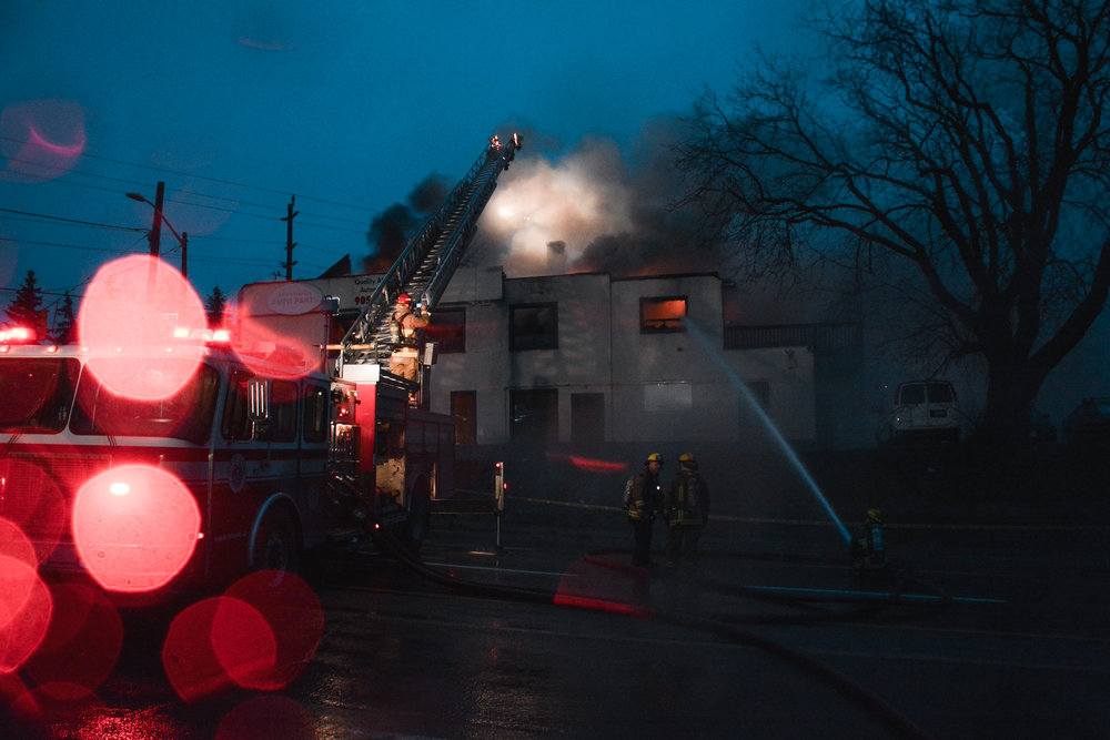 A recent fire in Oshawa, thankfully, nobody was hurt.