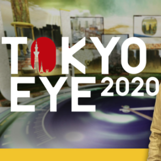 Tokyo Eye 2020 Reporter Regular reporter on the NHK World TV show, Tokyo Eye 2020. The program features Tokyo lifestyle tips, new tourist sites, and more.