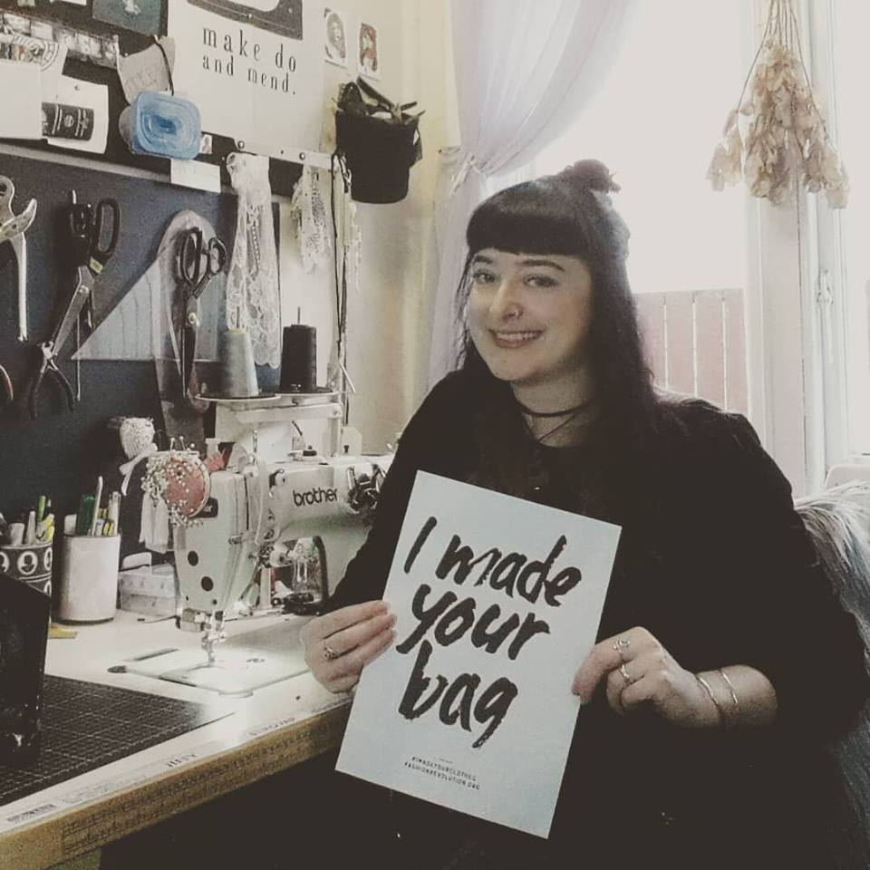 Fashion Revolution 2018 - Welcome behind the scenes! I'm Suzie and #imadeyourbag - every Velvet Heartbeat bag is lovingly handmade in this tiny workroom in Auckland, New Zealand. I am proud to stand with a global crew of makers for industry transparency and fair working conditions. Knowing how much work goes into making fashion makes Fashion Revolution so much more important to me. Nobody should suffer for the sake of fashion! My brand is open, fair and honest - as I wish the whole industry to become. Stand with me and ask your favourite brands #whomademyclothes - join the Fashion Revolution at www.fashionrevolution.org
