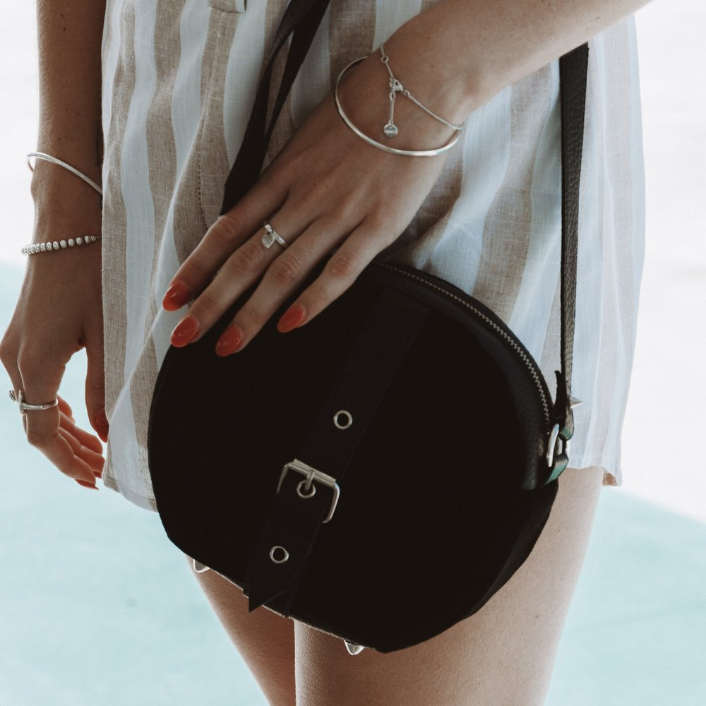 Velvet Heartbeat ethically made vegan leather bags and accessories