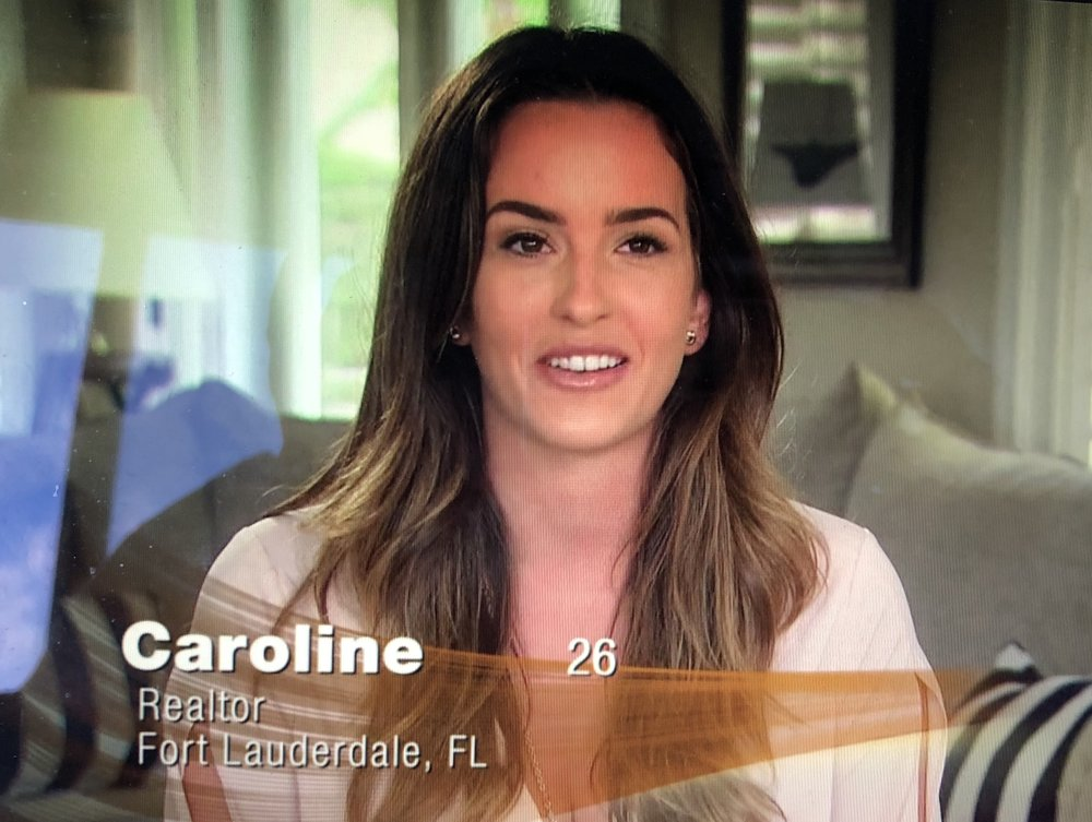 That face has been chemically-peeled and botox'ed within an inch of its life, Caroline. YER NOT FOOLIN' ANYONE.