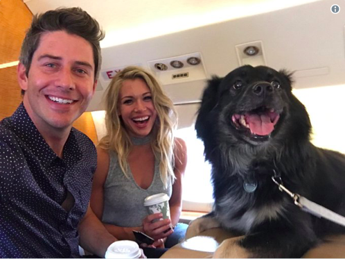 Arie and Krystal on the plane.png