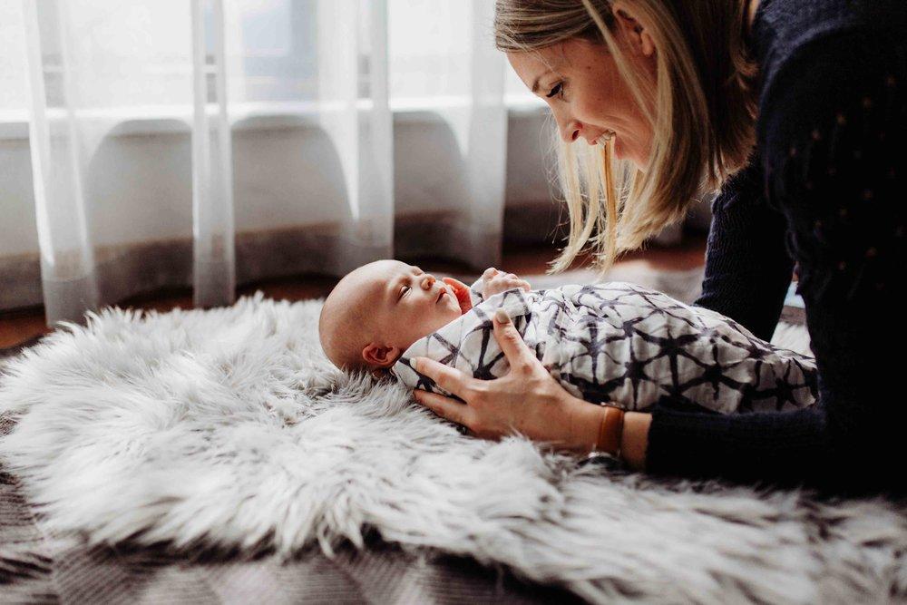 Lifestyle Newborn Photography Adelaide