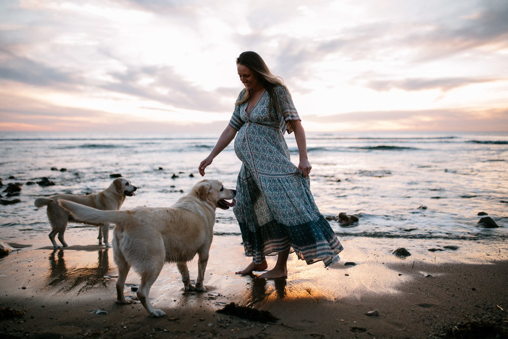 Adelaide Documentary Photos Maternity Photos on the beach