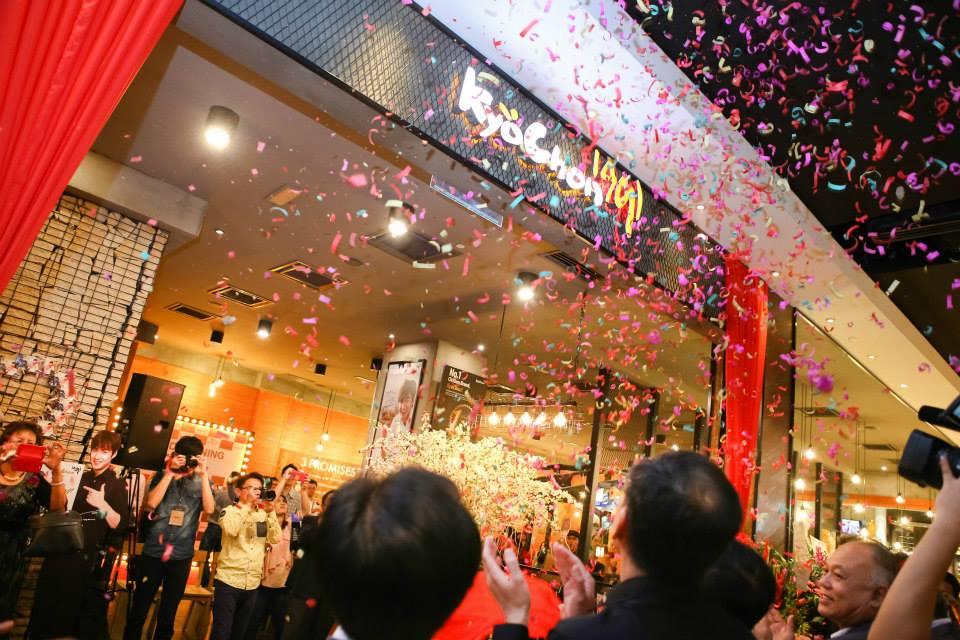 2015 KYOCHON PAVILION KL GRAND OPENING