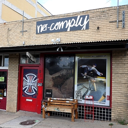 No-Comply Skate Shop - 812 W 12th St.Austin, TX 78701nocomplatx.com