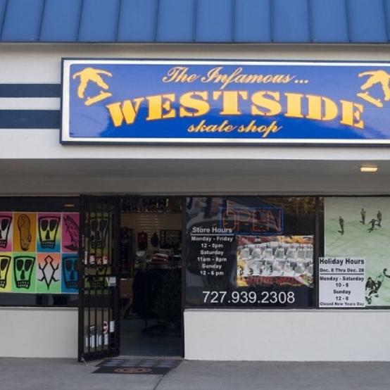 Westside Skate Shop - 39332 US-19 Tarpon Springs, FL 34689westsideskateshop.com