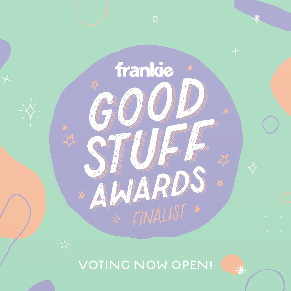 Frankie Magazine Finalists Fashion Vote for us!