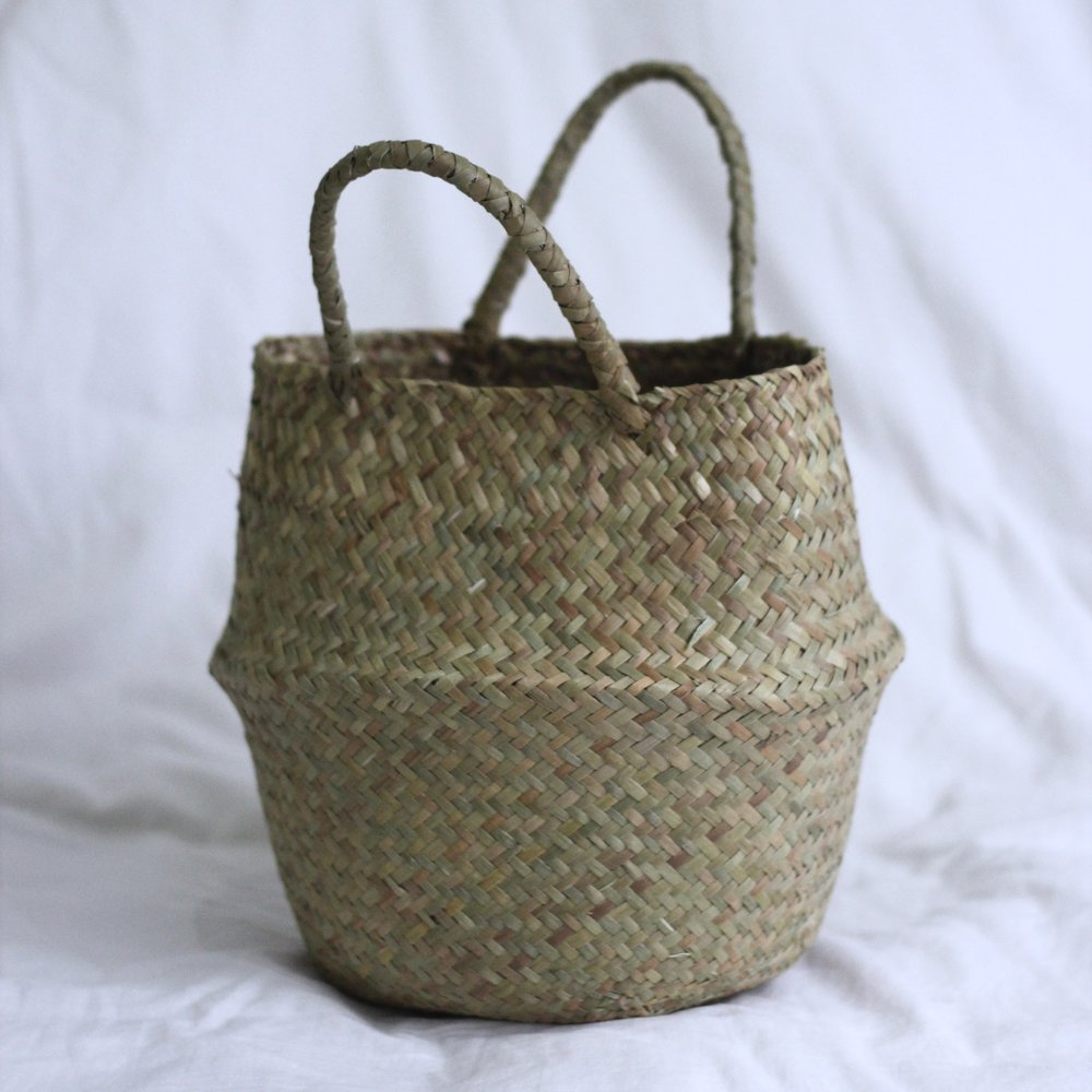 Straw Weaved Basket - Small 1.jpg