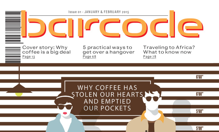 Writer of 'Barcode' Magazine in 2014 (contributed 2 articles)