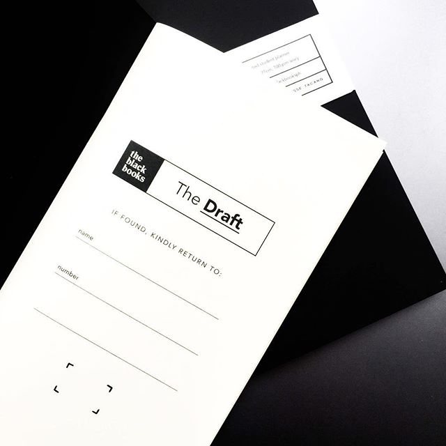 It doesn't have to be perfect the first time around. With #TheDraft's smooth blank pages, keep going and don't hold back. Click the link in our bio to order your copy!  Specs: 40 pages, 140gsm ivory, 11cm x 21cm (fits your standard TN journal)  Now available for purchase online and via @lalocal.ph! ✨  #theblackbooks #theblackbooksph #designingproductivity #planner #plannerph #plannersph #plannersmnl #blanknotebook #tninserts #thephplanningsociety #plannercommunityph #design #productivity