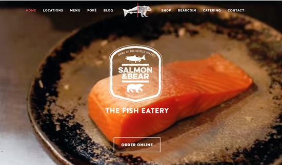 Salmon & Bear -