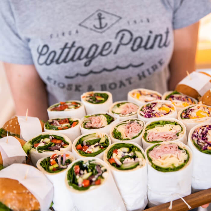 Photo of a restaurant's catering packages