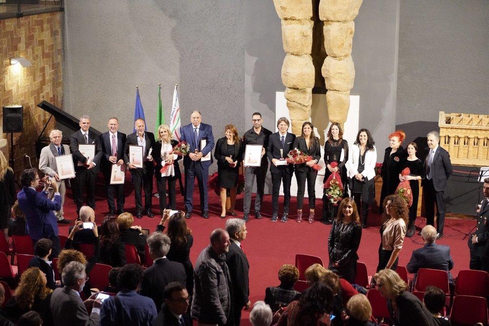 Gli insigniti del Premio Telamone 2018