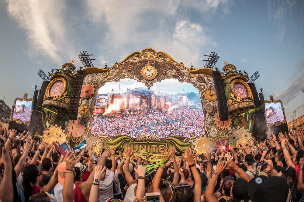 UNITE with Tomorrowland Barcelona 2017