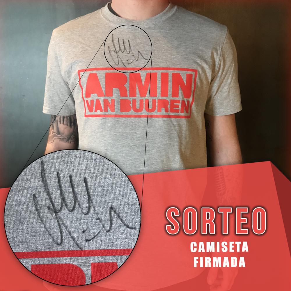 Armin Van Buuren - camiseta firmada