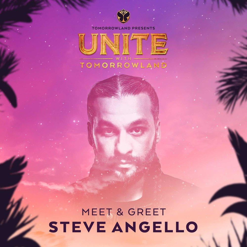 Meet & Greet con Steve Angello - Si quieres conocer a Steve Angello, puedes participar accediendo a sus redes sociales. Haz click para llegar a sus posts y sigue las instrucciones:- Pronto más info.