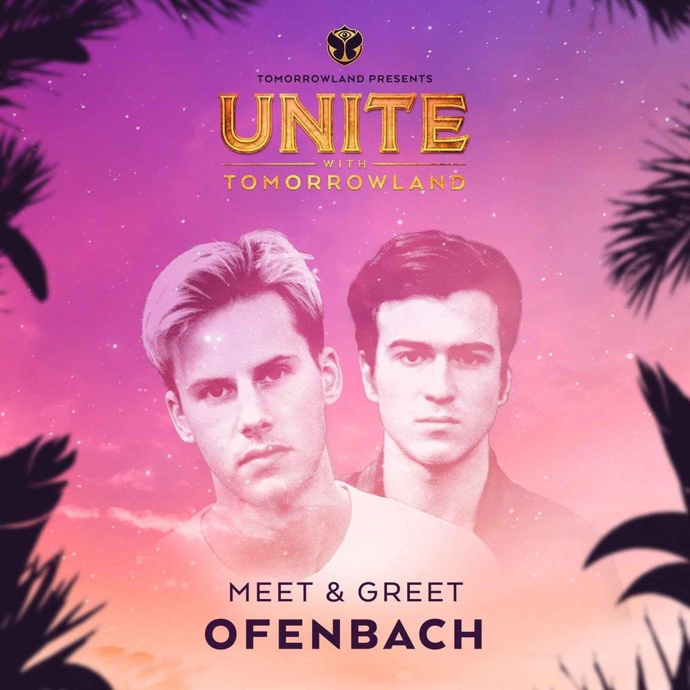 Meet & Greet con Ofenbach - ¡Me cachis! Este duo es un caso especial. Pinchan en Tomorrowland Bélgica y cogerán un jet privado apenas acaben para llegar a tiempo a Barcelona, por lo que no tendrán tiempo de un M&G.