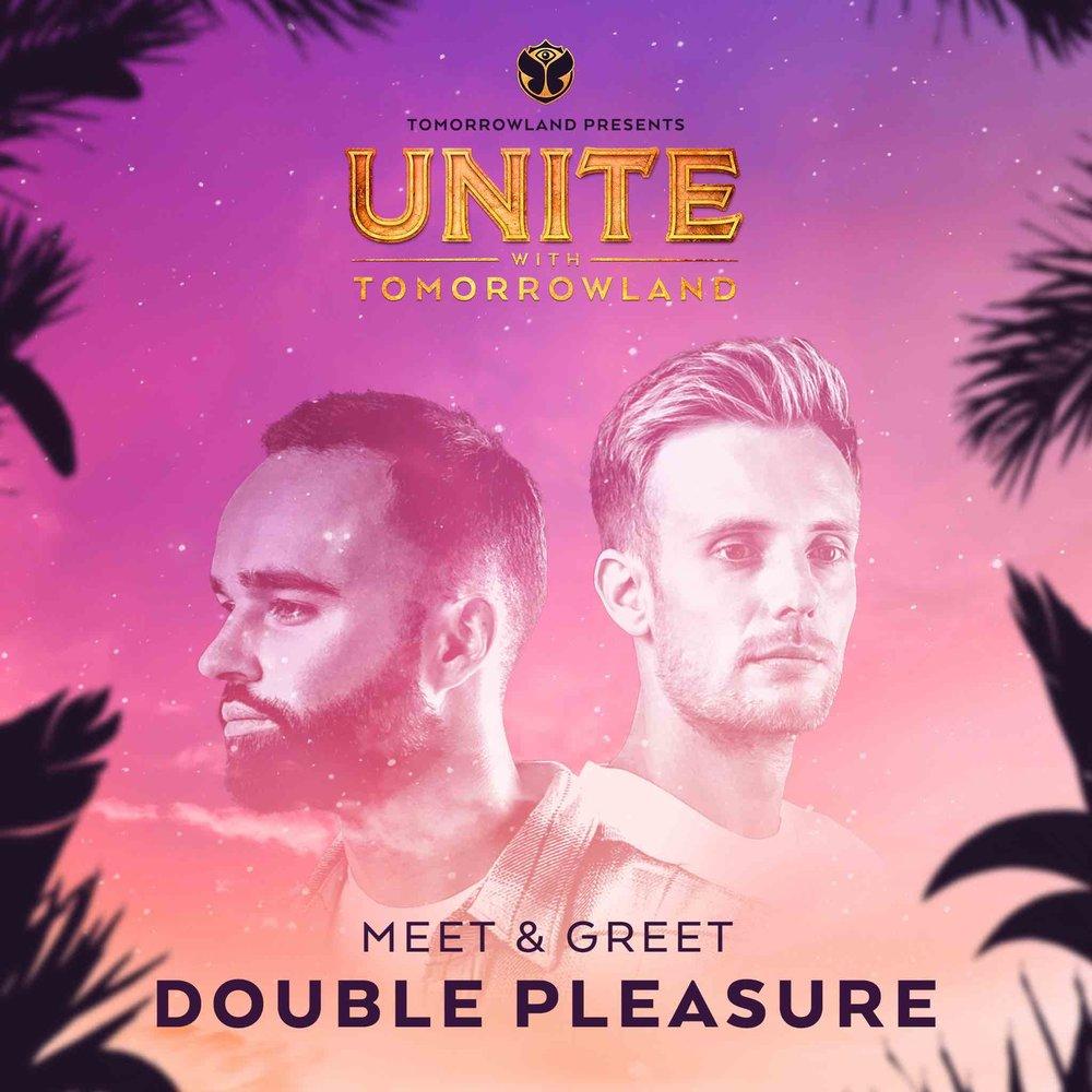 Meet & Greet con Double Pleasure - Si quieres conocer a Double Pleasure, puedes participar accediendo a sus redes sociales. Haz click para llegar a sus posts y sigue las instrucciones:- Post Facebook.