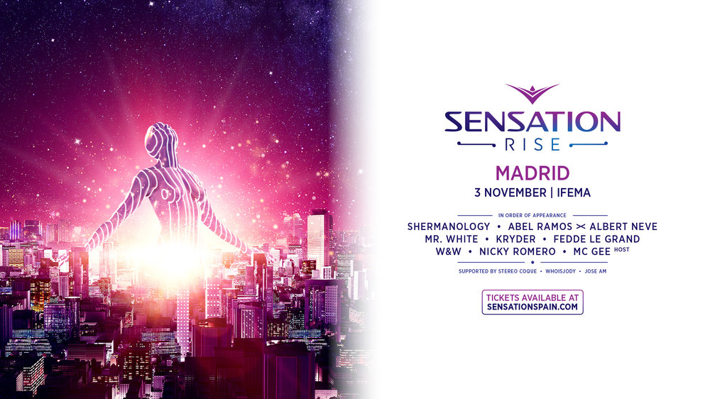 Full Line Up Sensation Spain cartel