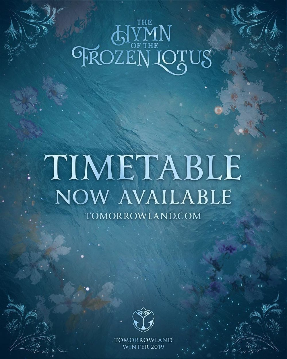 Time table tomorrowland winter