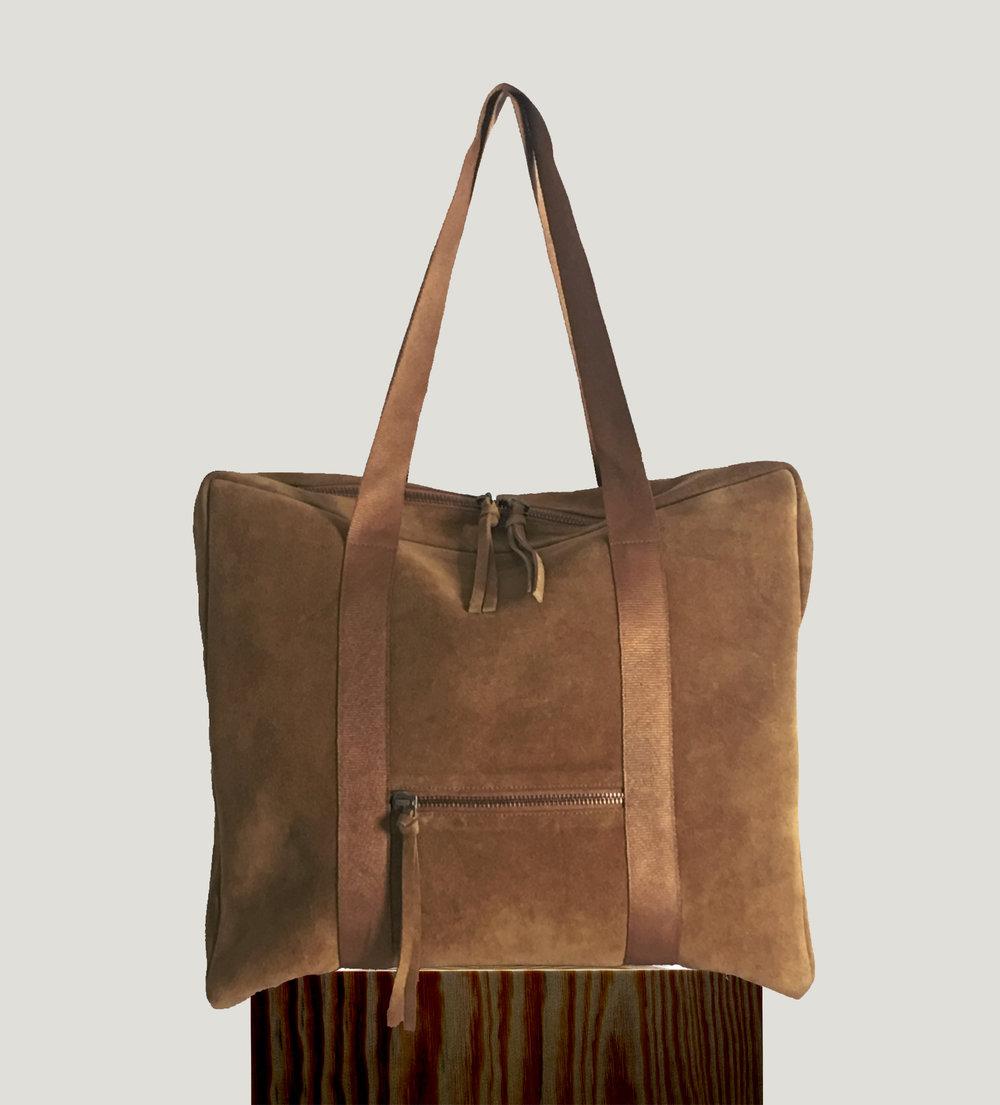 Trava shopper m golden brown new.jpg