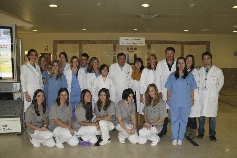 Trabajando como profesor de ortodoncia en la Universidad Rey Juan Carlos - 2011 - Spain