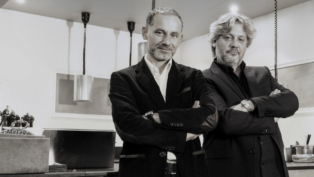 Damien Hubert (left) founder and CEO of La Maison Hubert with close associate and friend Sébastien Ripari (right) who now serves as Gastronomic Concept Director for the brand.